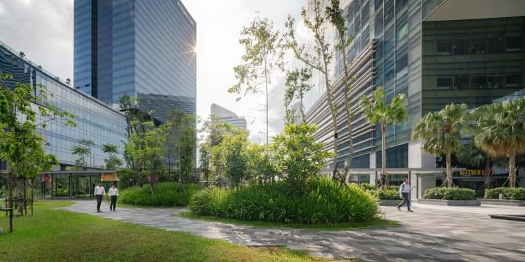 新加坡Comtech商业园区景观-5