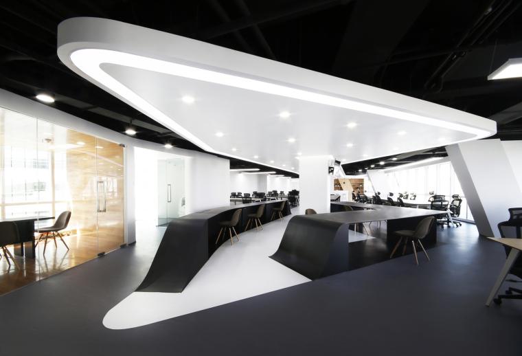 #办公空间设计#北京银河SOHO普惠金融办公室