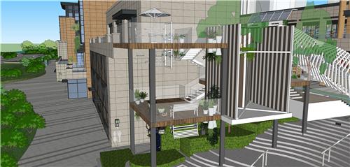 商业街氛围营造|打破空间,打造另类购物体验——梅澜坊商业街之-11