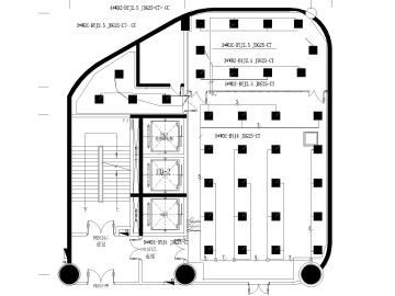 [广西]超高层监控中心+数据中心机房+弱电间装修全套施工图