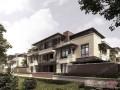 万科渝园装修设计图,渝北联排别墅(欧式风格)装修效果图