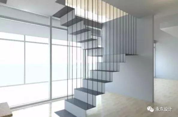 悬挂式楼梯施工工艺