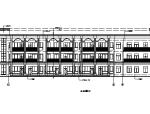 [上海]儿童活动中心及商业、地下车库建筑施工图(全专业)