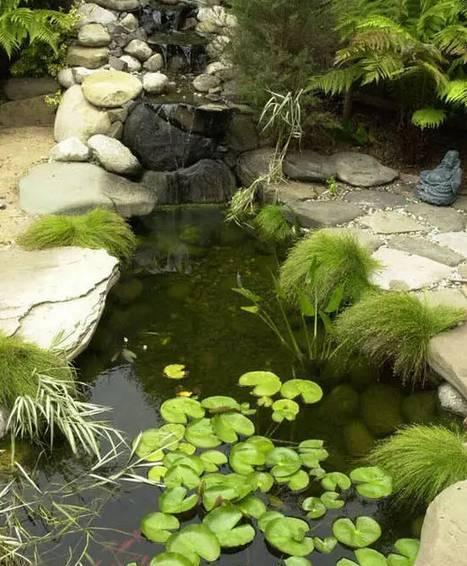 打破传统,园林景观水景设计可以如此这般