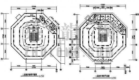 某住宅小区超市电气设计图