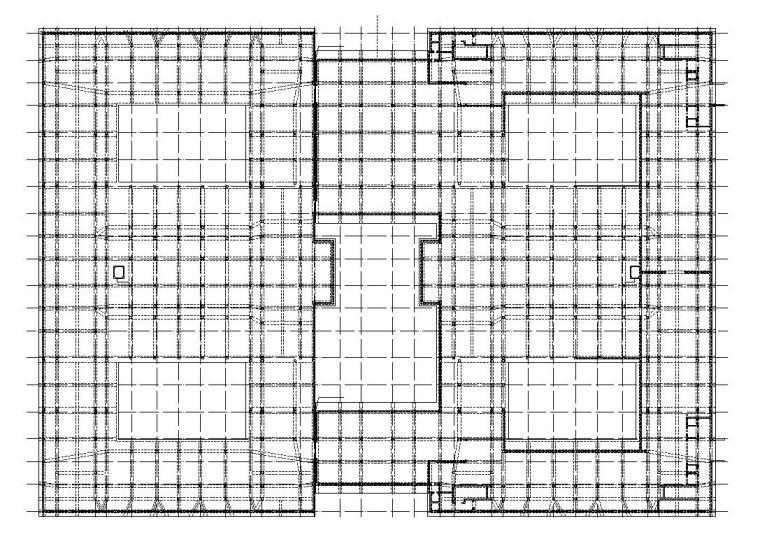 [福建]厦门大学翔安校区主楼群结构施工图设计(框剪结构)