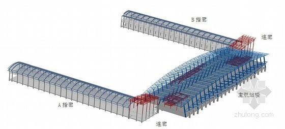 [湖北]机场航站楼施工组织设计(框架结构、钢结构、中建)