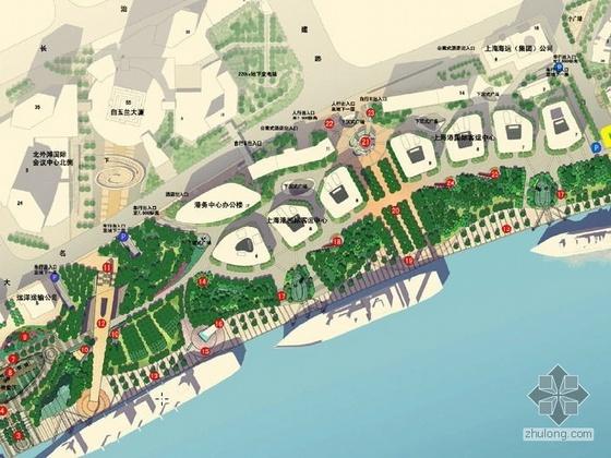 某滨水绿地公共开放空间景观扩初