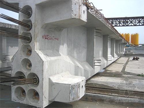 二广高速公路某段T梁、空心板预制施工方案