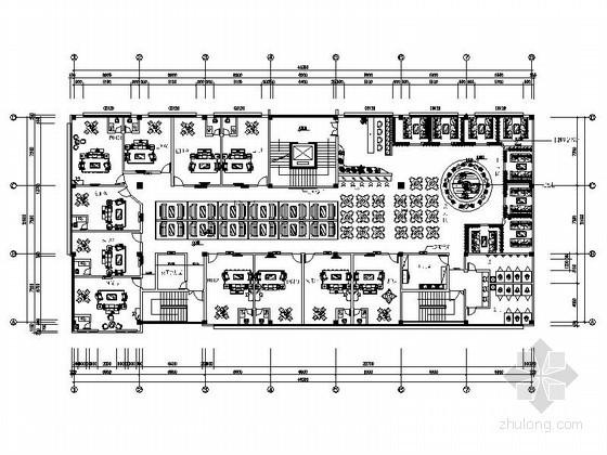 [四川]第二层茶楼室内装修图(含效果)