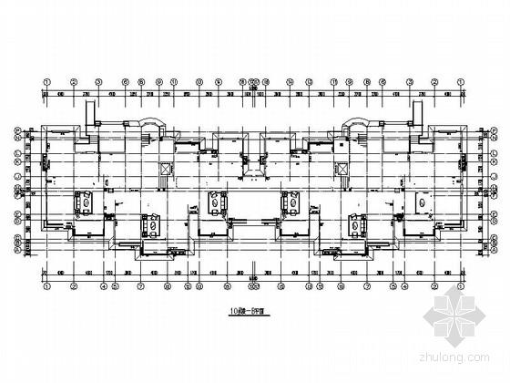 [天津]某招标项目楼外墙石材幕墙深化设计施工图