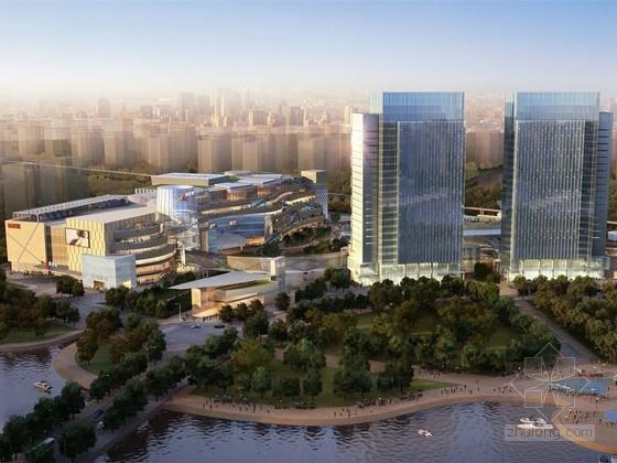 [温州]现代风格商业综合体规划及建筑设计方案文本