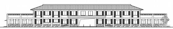 [什邡市洛水镇]某二层敬老院建筑结构水电施工图
