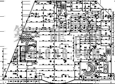 某星级酒店的改造工程平面