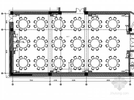 [拉萨]某中式风格假日酒店宴会厅室内装修施工图