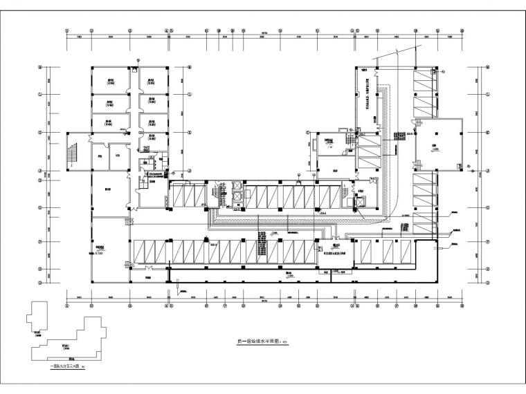 高层宾馆给排水消防施工图设计