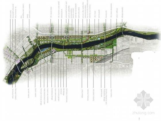 [美国]河滨城市修复景观设计方案