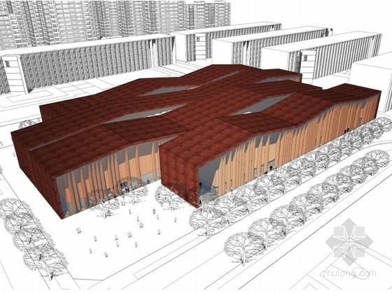 [沈阳]多层中式风格知名大学新校区规划设计方案文本