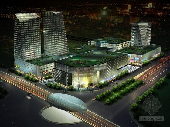 [上海]大型知名商业购物中心建筑设计方案文本