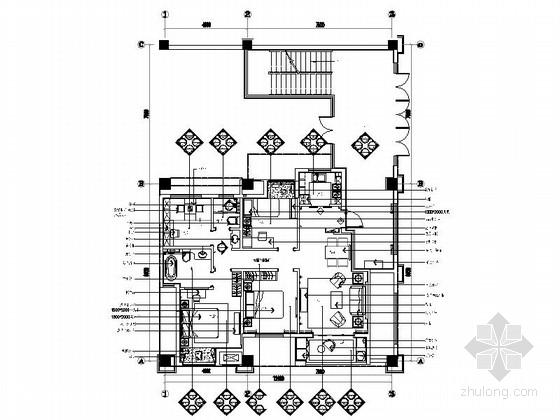 [苏州]温馨简欧风格四居室室内装修图(含效果)
