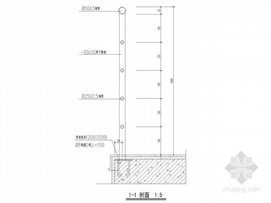 [江苏]超高层酒店楼梯剖面节点详图