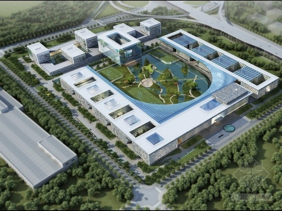 [江苏]高层现代风格企业办公基地建筑设计方案文本(知名建筑事务所)