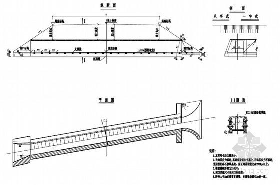 钢筋混凝土盖板涵通用标准图(11张)