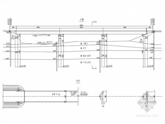 3×20米钢筋砼T形梁桥全套施工图(26张)