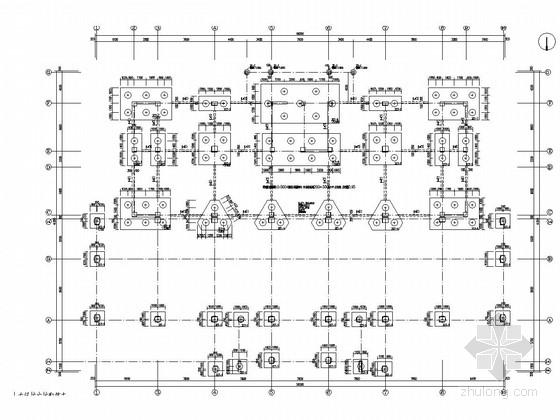 [甘肃]八层框架剪力墙结构车管所结构施工图