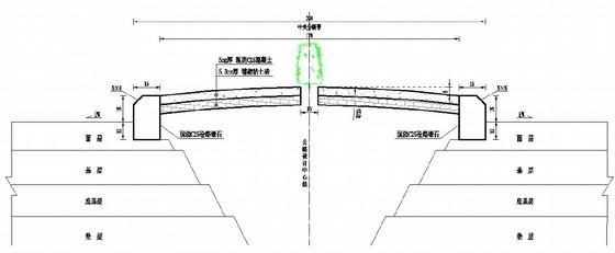 高速公路加铺沥青技改工程设计图纸136页(含桥涵交通设施)