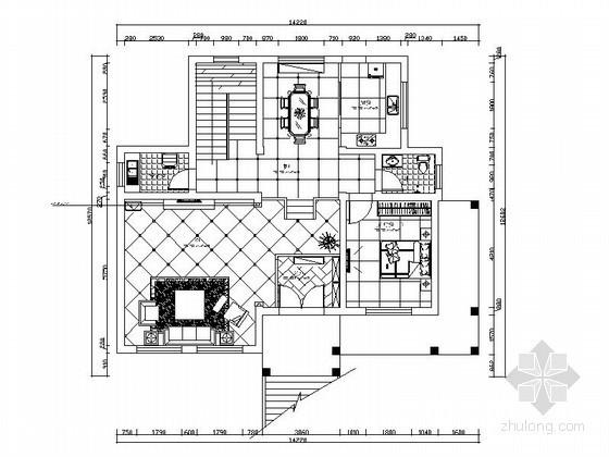 简欧三层别墅室内装修图(含效果)