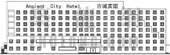 某中型旅馆建筑设计方案