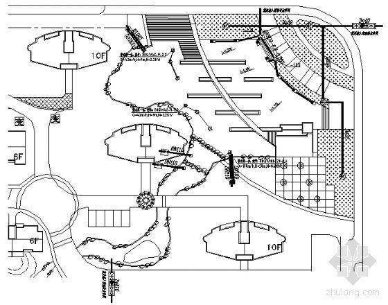 某小区一区块给排水设计详图