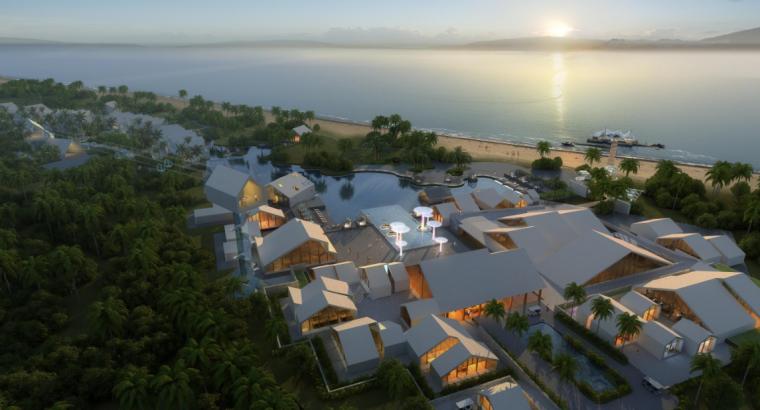 [海南]西岛珊瑚村旅游小镇规划-AECOM(滨水景观)