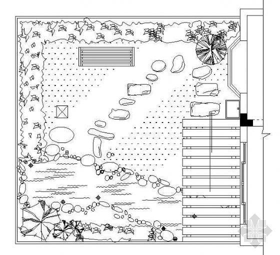 庭院平面布置方案