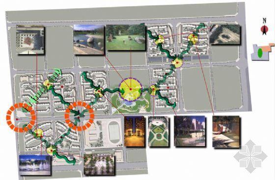 北京文化居住区景观规划方案(二)-3