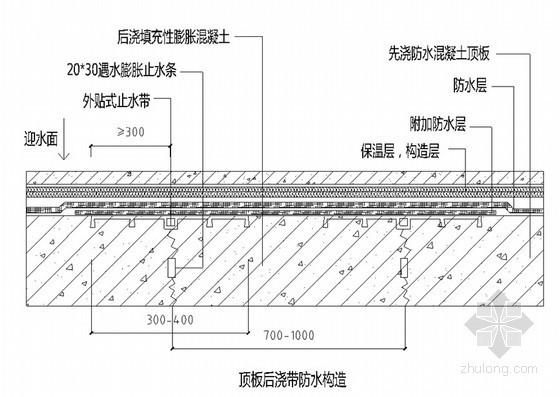 [北京]大型商业综合楼地下室防水施工方案(聚乙烯丙纶)
