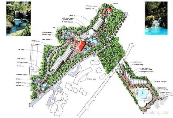 [三亚]酒店环境景观设计方案
