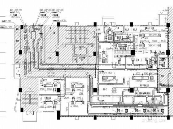 ICU净化系统资料下载-[广东]医技楼空调通风及防排烟系统设计施工图(含洁净设计)
