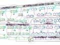 住宅小区工程施工现场平面布置图(主体 装修 临水 临电)
