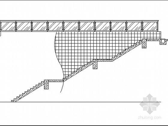 居住区自行车库入口做法详图