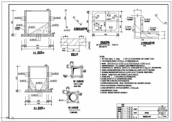 天津某污水处理工程全套图纸