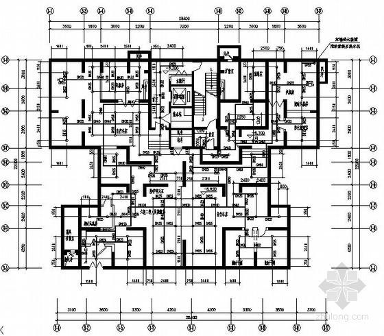 [郑州]某高层安置房给排水全套图纸