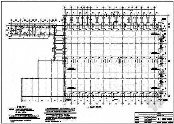 某车库结构设计图