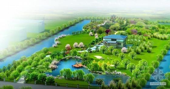 山东济宁别墅景观方案设计