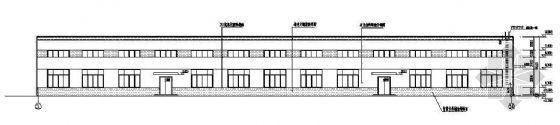 某工业厂房建筑施工图纸