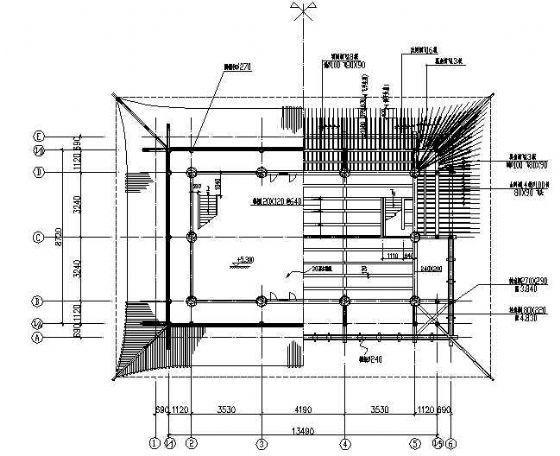 嘉峪关关楼修复方案图纸-2