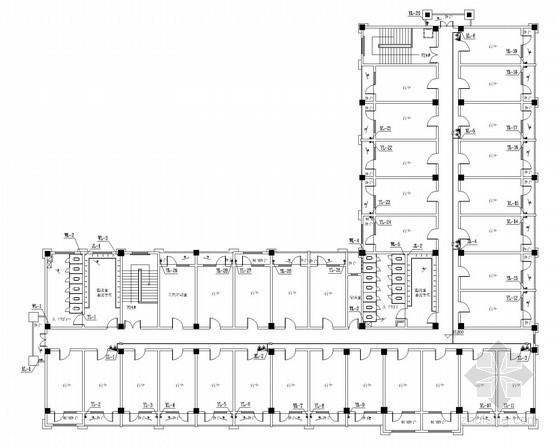 [安徽]小学教学楼报告厅体育馆给排消防施工图