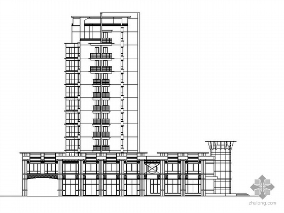 某十二层住宅楼建筑施工图