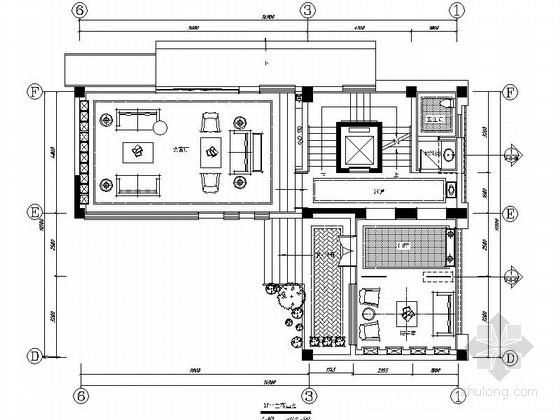 [山东]精装简欧风格五层别墅装修施工图